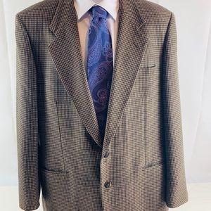 Jones New York Suits & Blazers - Jones New York Wool Houndstooth Coat Blazer 42 R